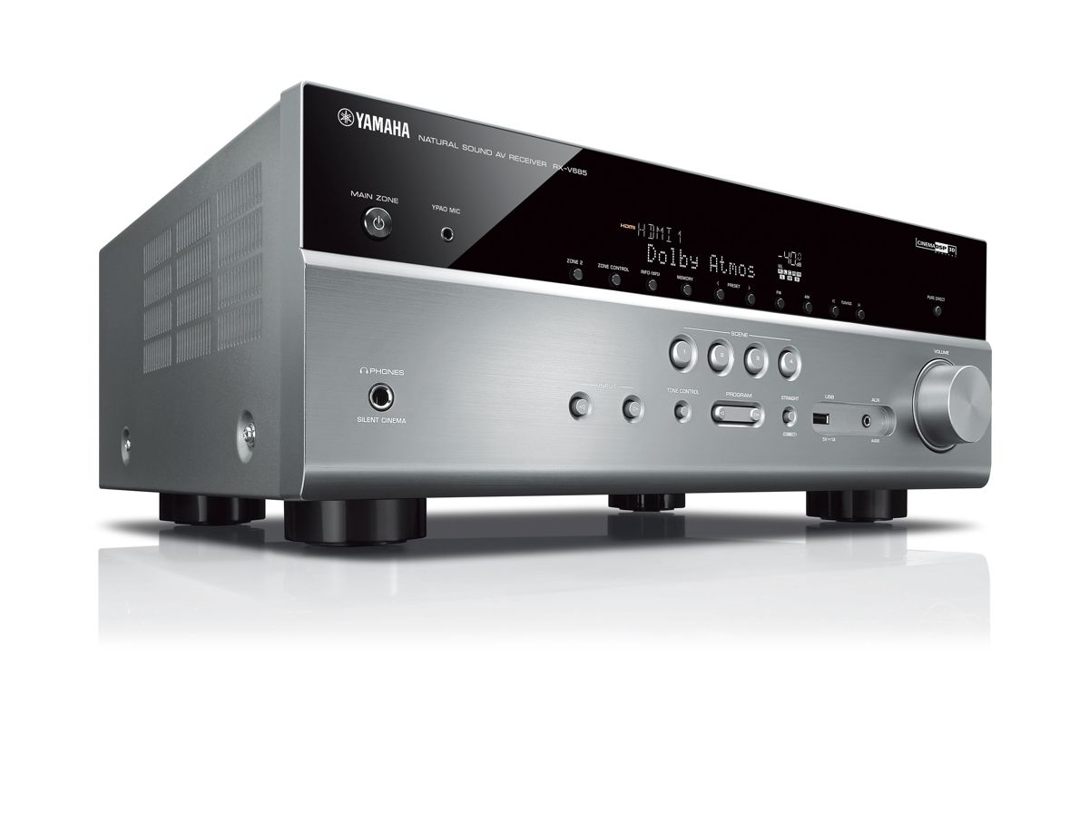 yamaha rx v685 7 2 av receiver heimkinoraum edition. Black Bedroom Furniture Sets. Home Design Ideas