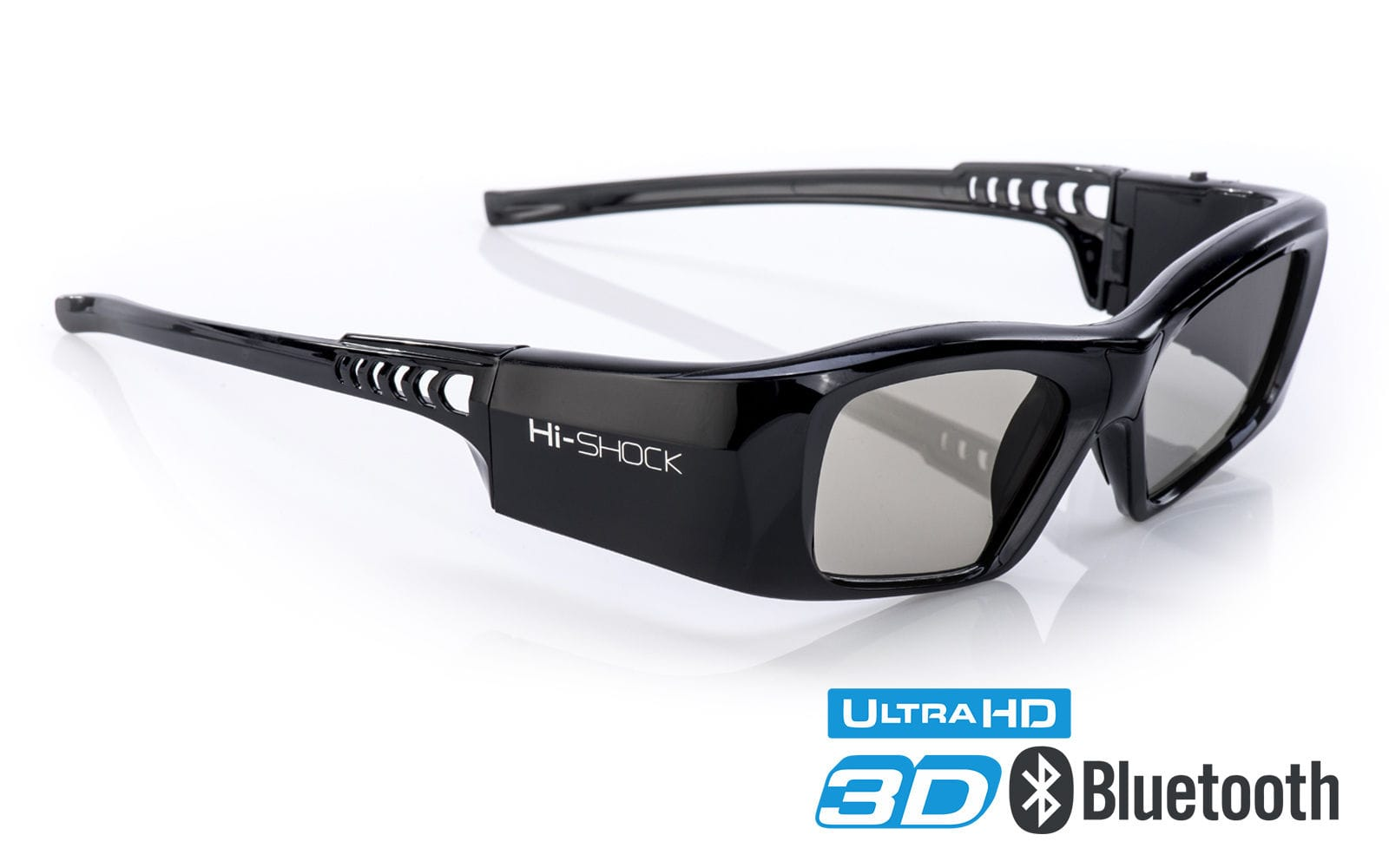 Hi-Shock 3D Brille BT/RF Serie Black Diamond