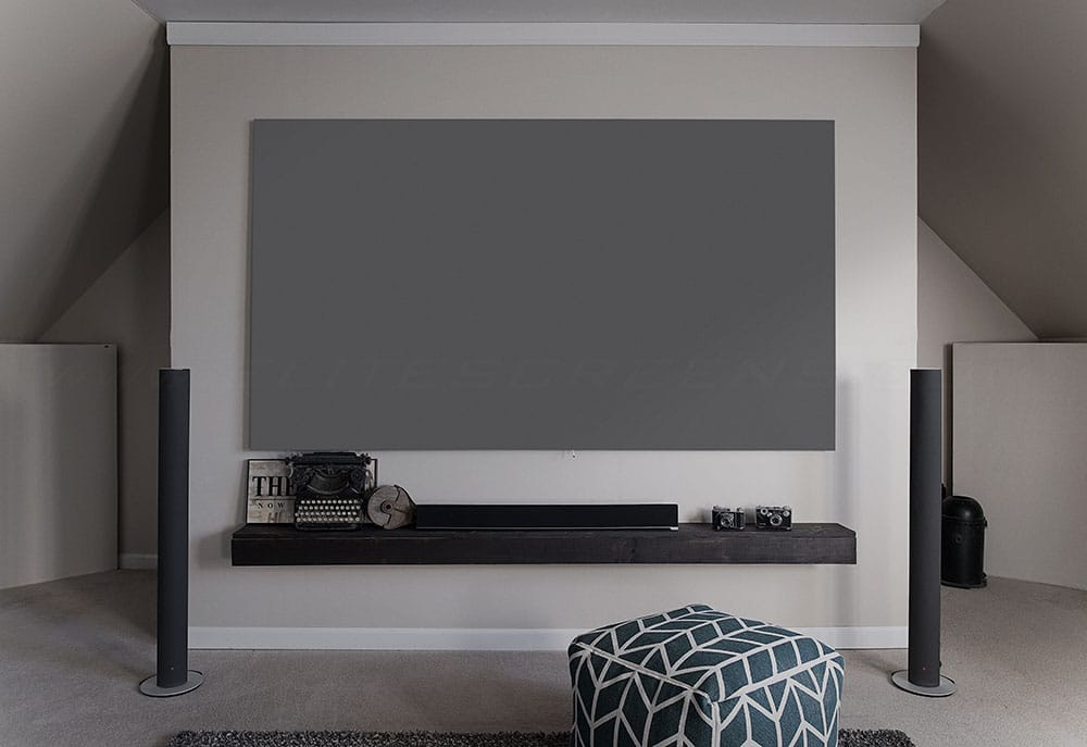 Rahmenleinwand Elite Screens Aeon Edge Free CineGrey 3D