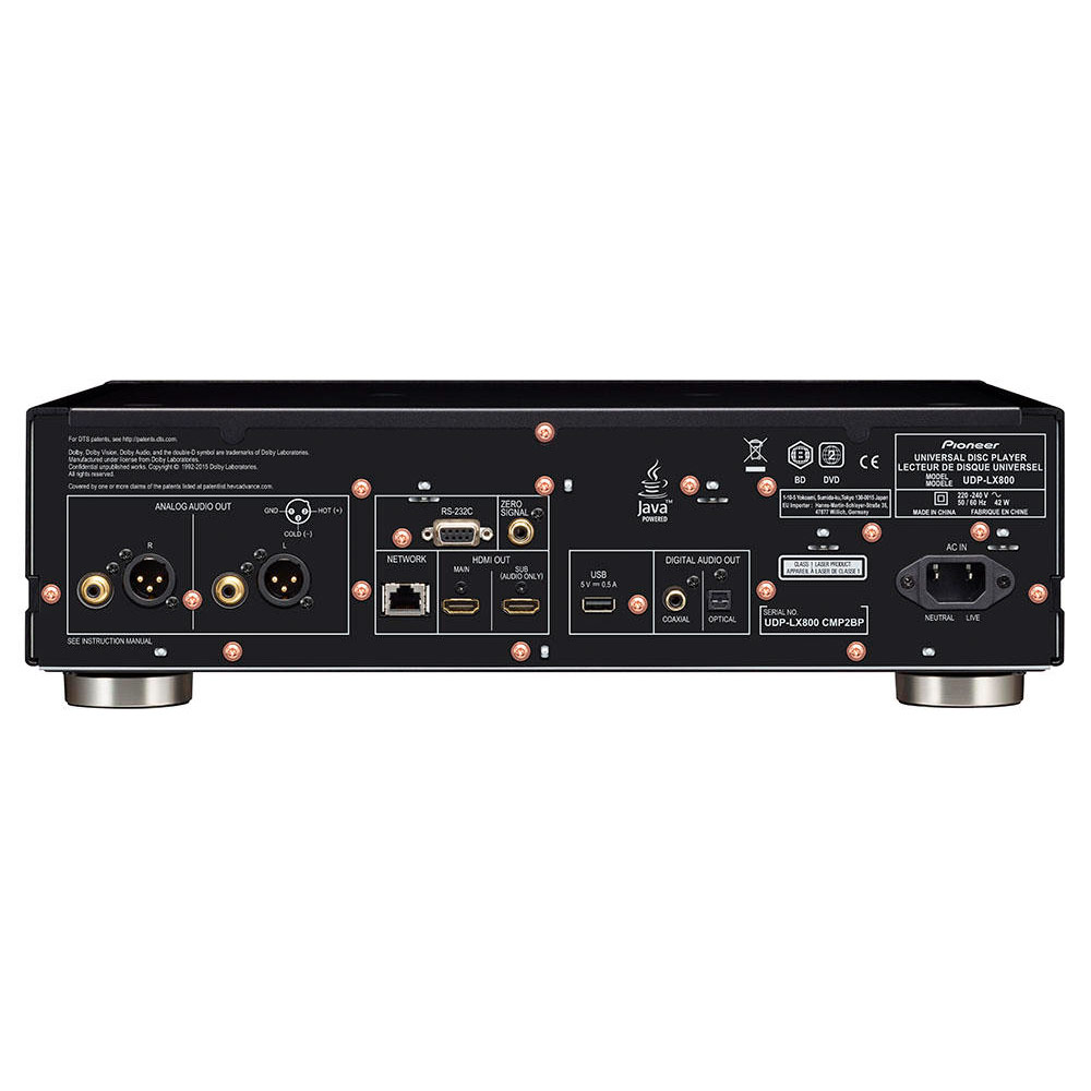 Pioneer UDP-LX800 4K Blu-ray-Player - HEIMKINORAUM Edition
