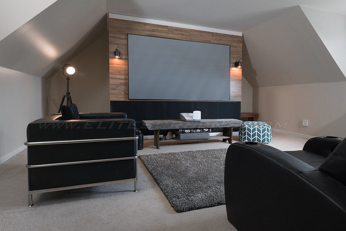 Rahmenleinwand Elite Screens Aeon Edge Free CLR
