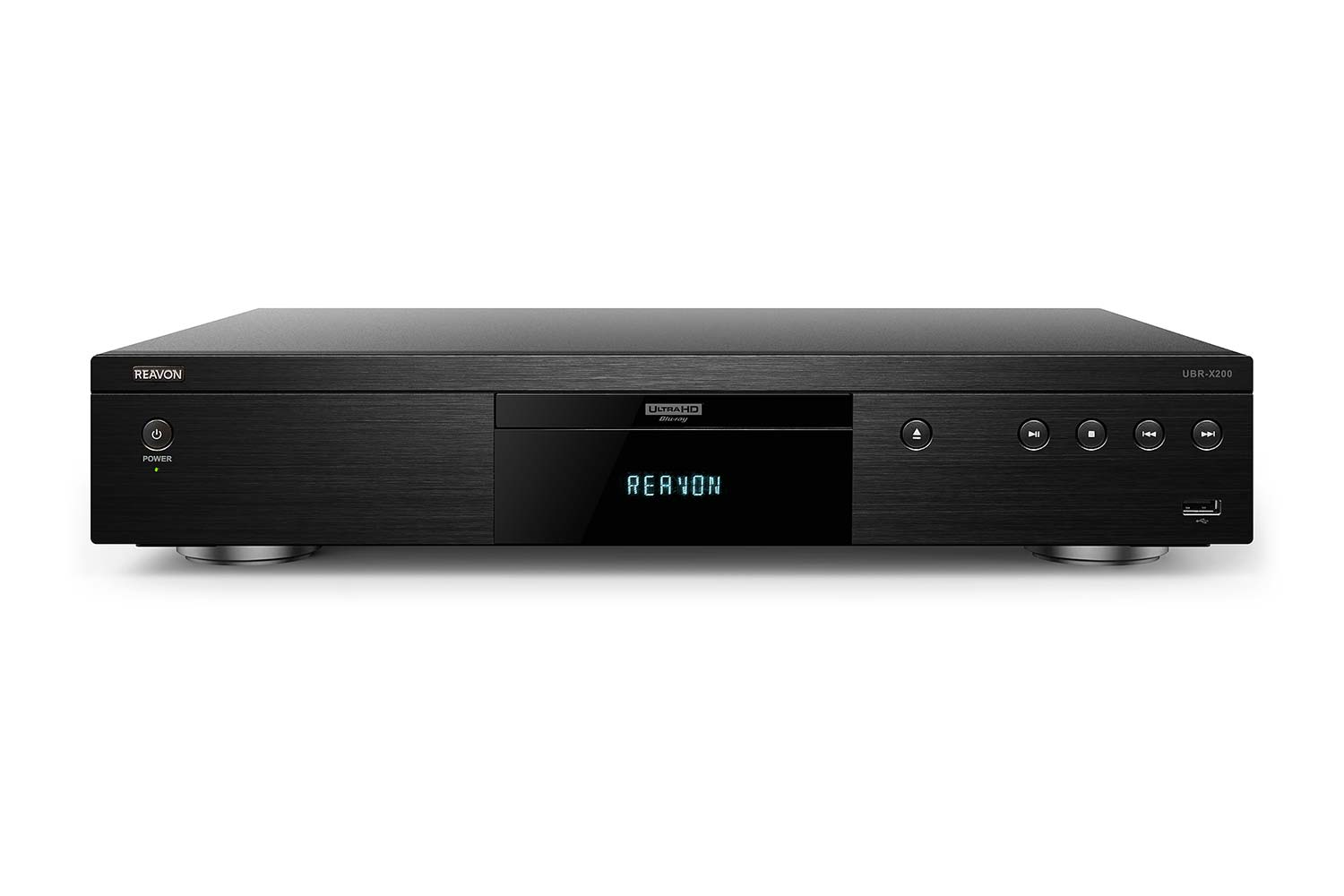 Reavon UBR-X200 4K Blu-Ray Player front