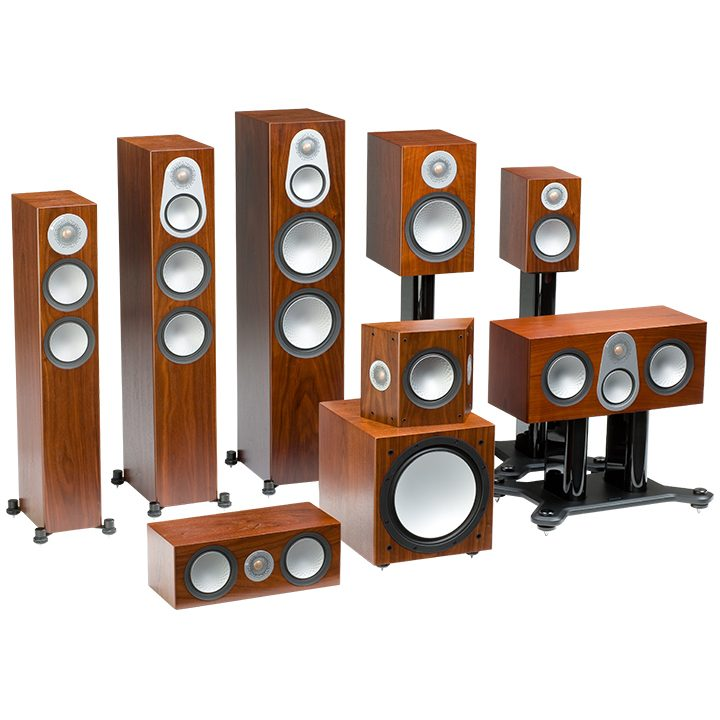 Dolby Surround Monitor Audio Silver