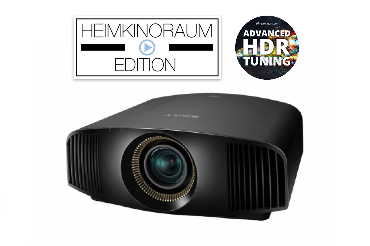 Sony VPL-VW360ES - UltraHD HDR 3D Beamer - HEIMKINORAUM Edition