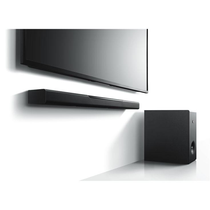 yamaha soundbar musiccast bar 400 inkl subwoofer. Black Bedroom Furniture Sets. Home Design Ideas