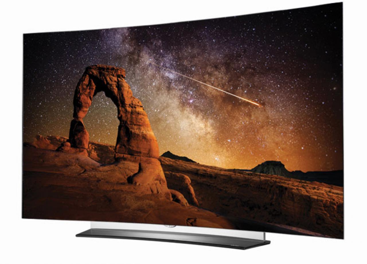 lg oled tv mit ultrahd premium logo von heimkinoraum