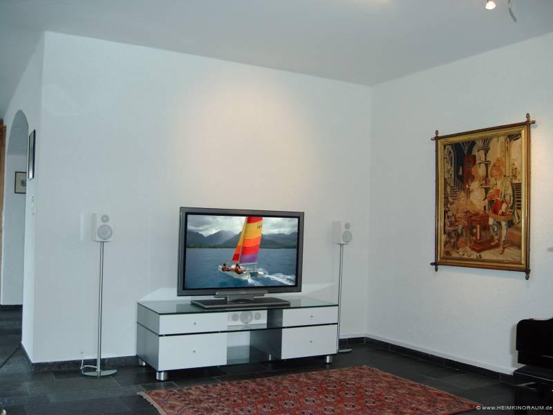 heimkino white plasma. Black Bedroom Furniture Sets. Home Design Ideas