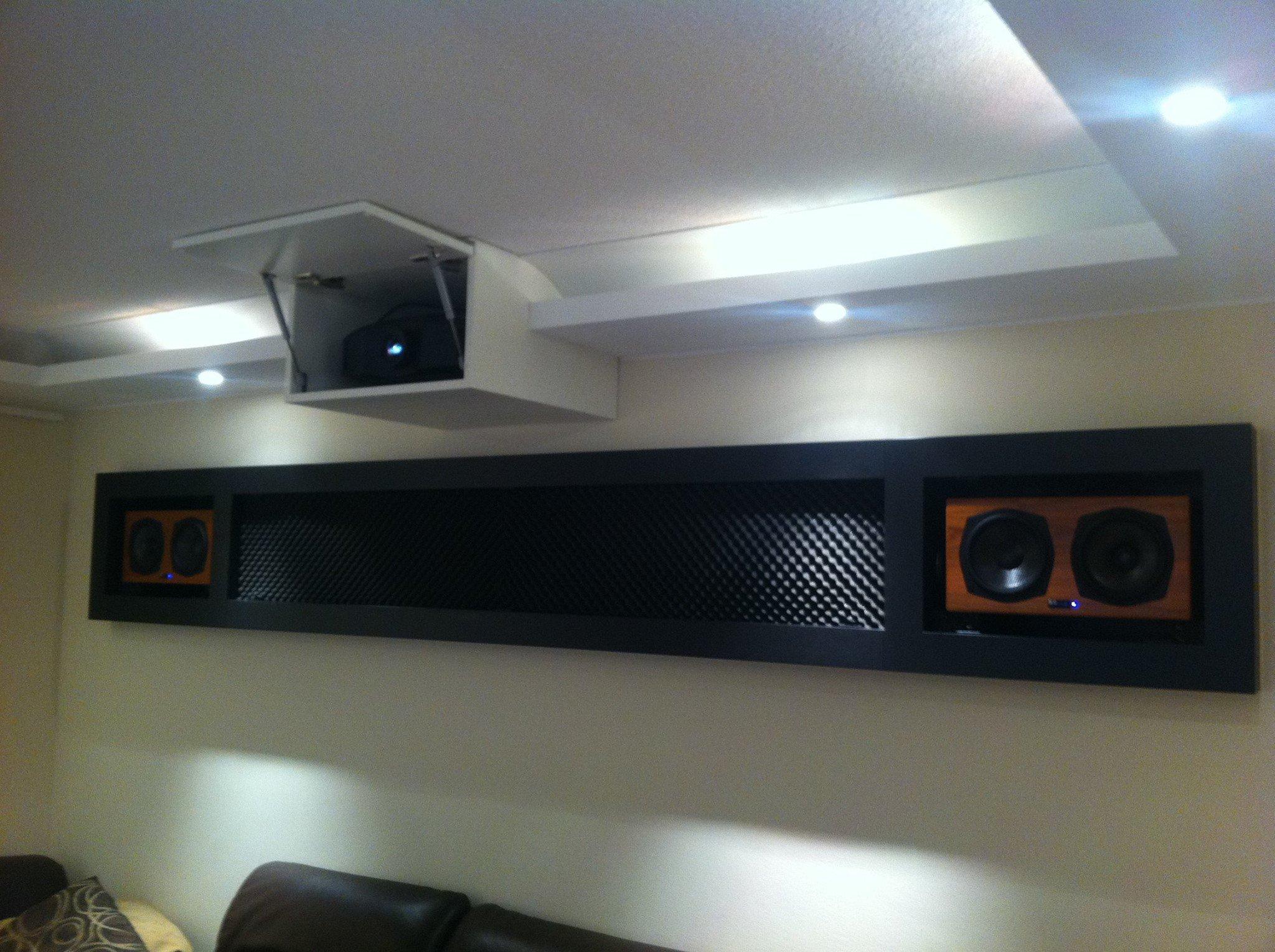 kunden heimkino box installation by team osnabr ck. Black Bedroom Furniture Sets. Home Design Ideas