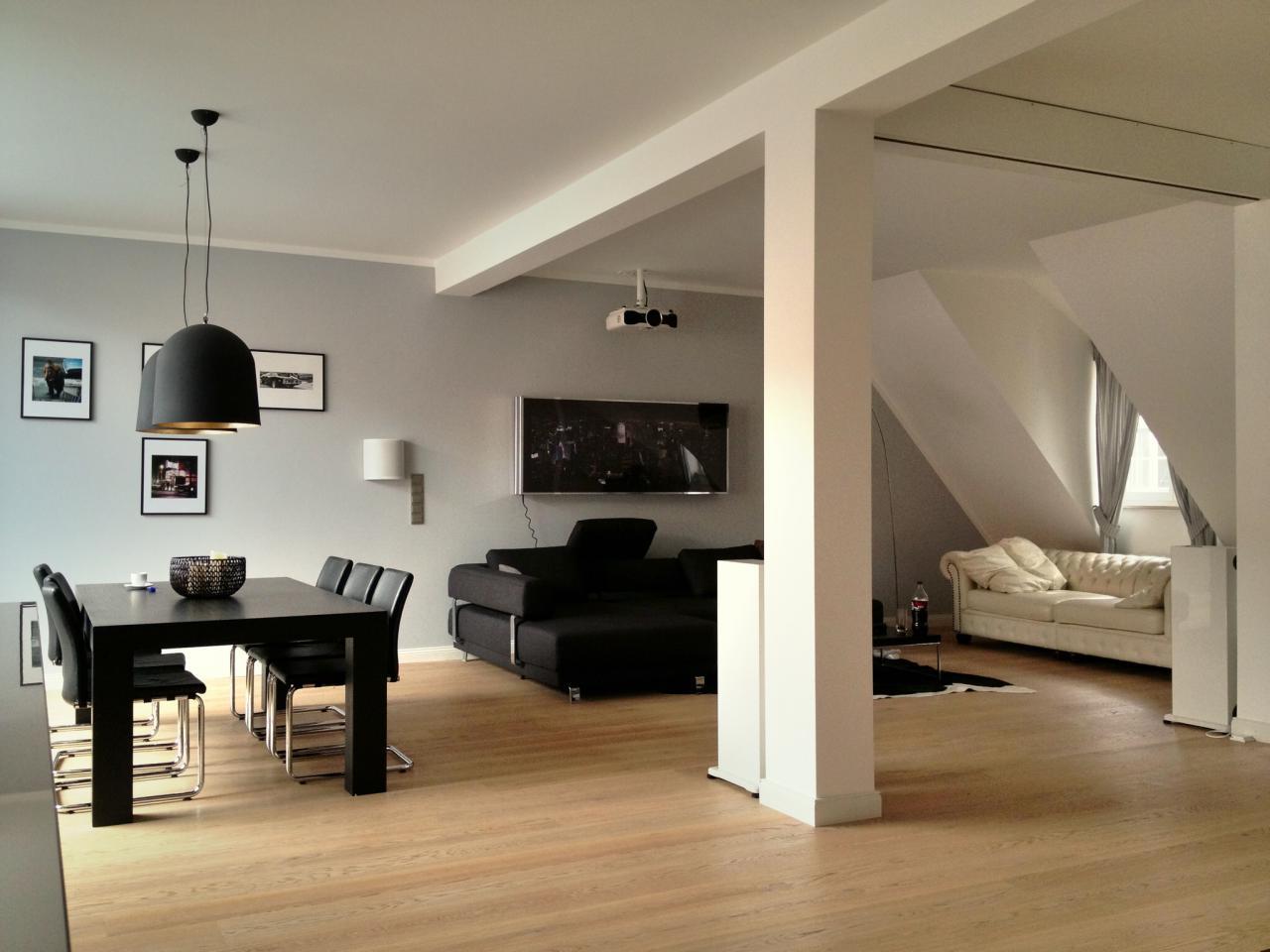 Heimkino-Integration in hellen und offenen Räumen