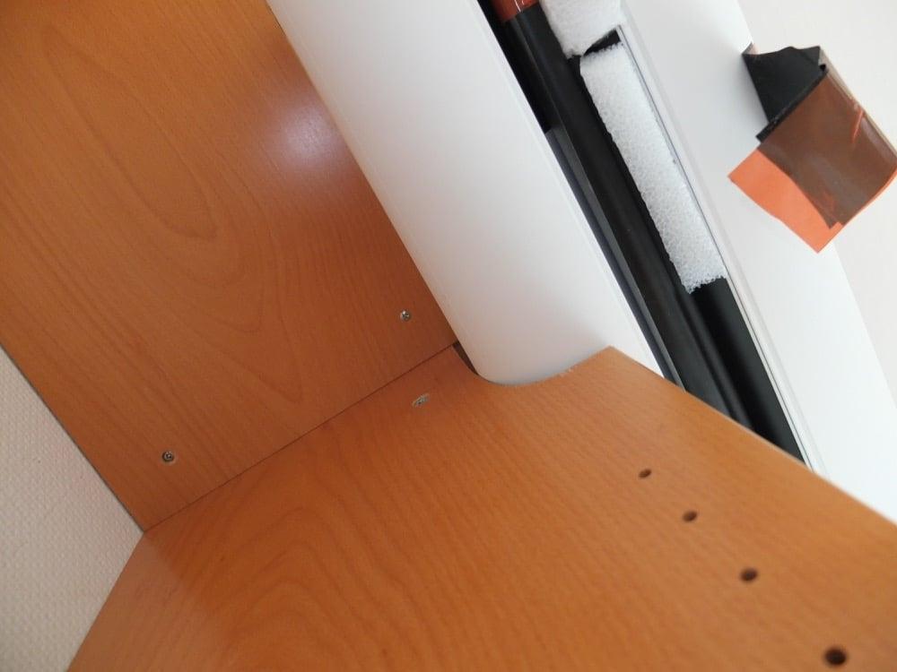 Schrank angepasst für Leinwandgehäuse