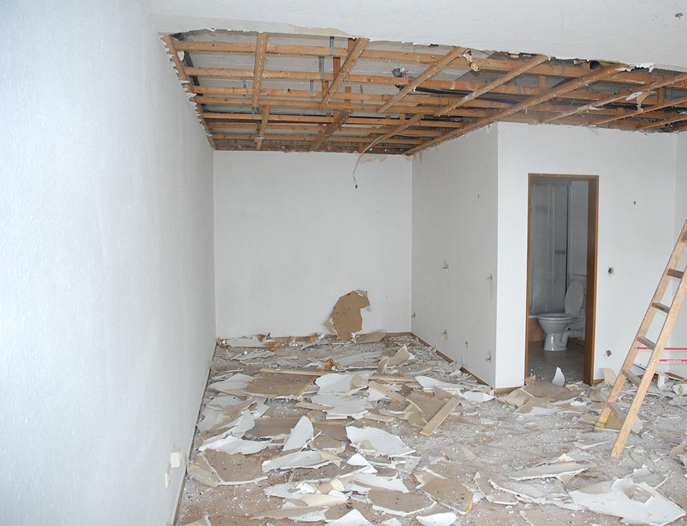 Die Heimkino Baustelle