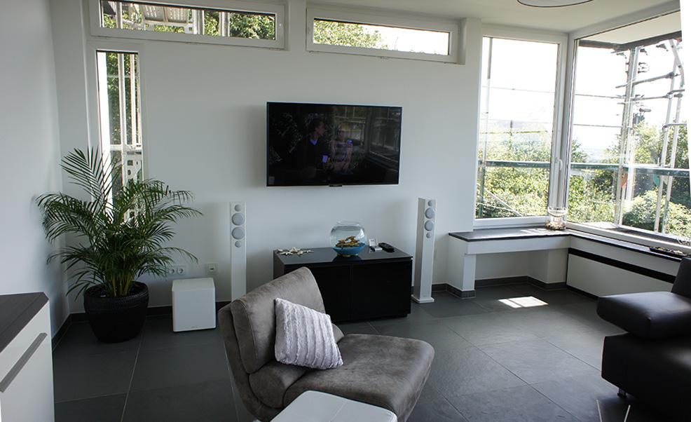 Lautsprecher Lösung im Wohnraum