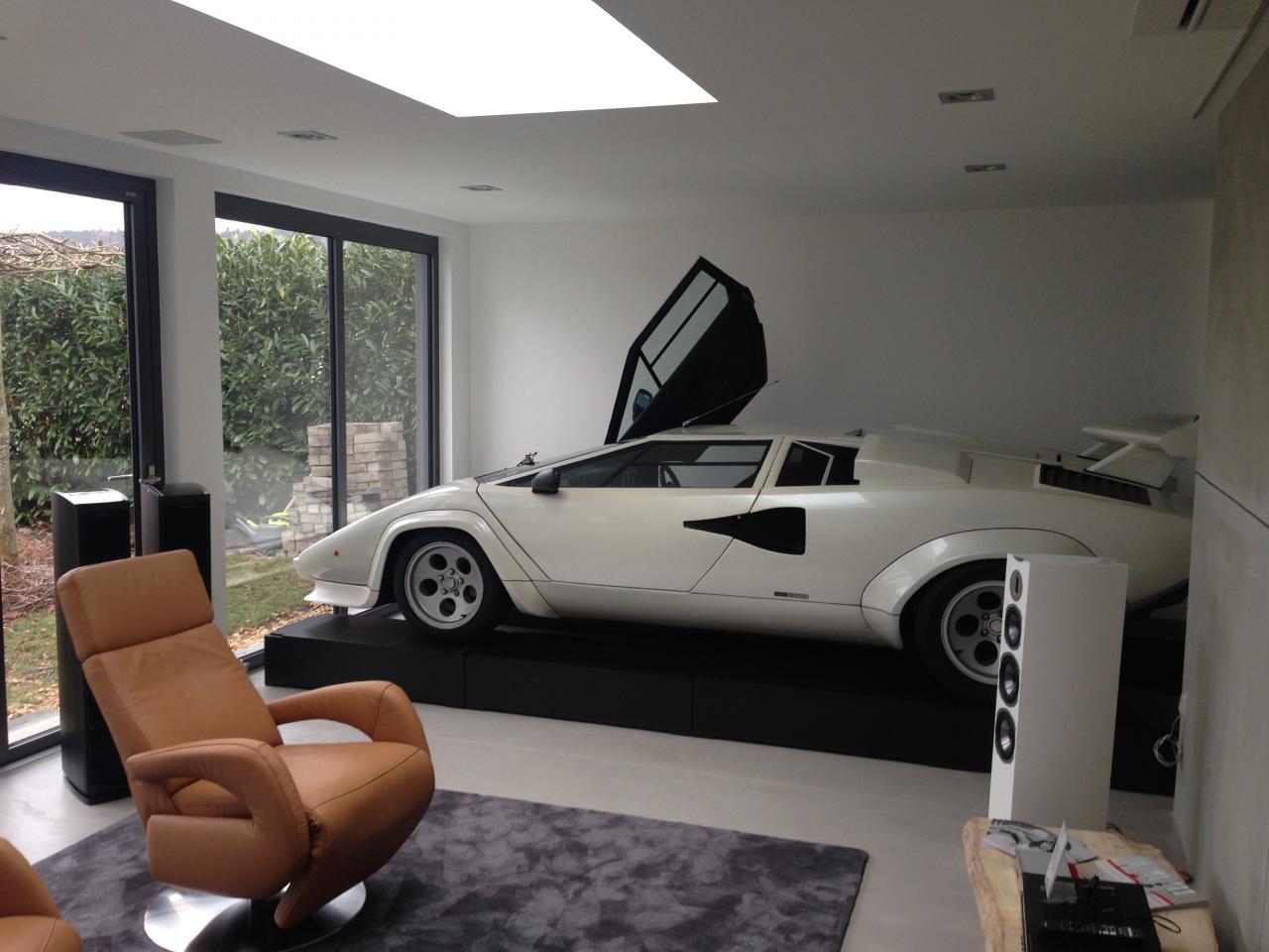 Heimkino in der Garage
