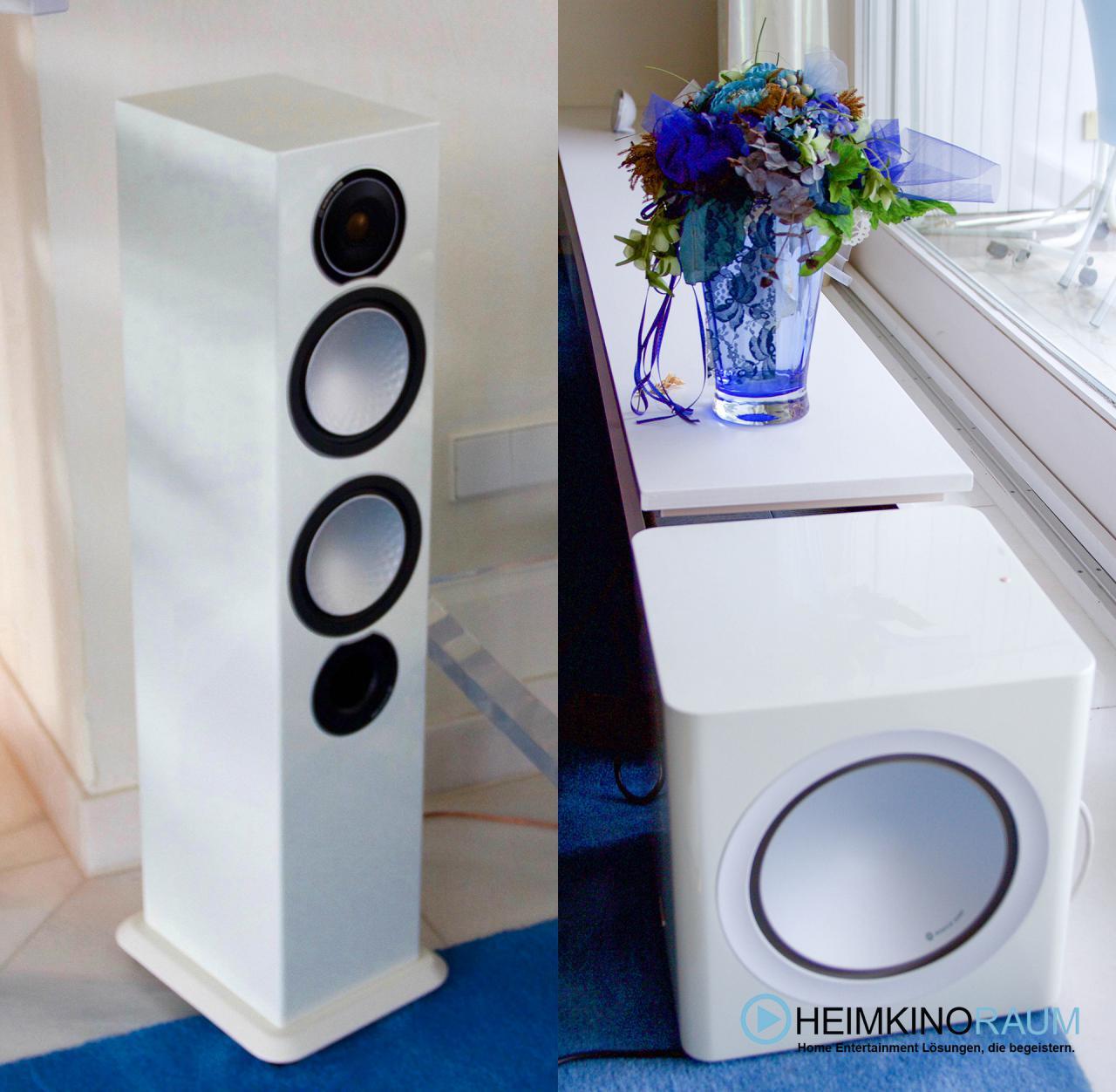Monitor Audio Lautsprecher mit 5.1 Setup