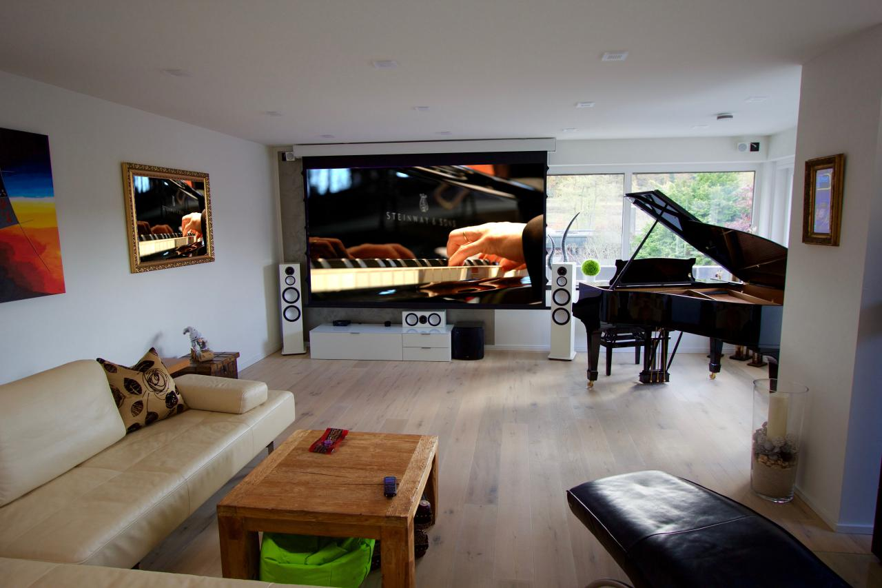 heimkino grand piano made by heimkinoraum. Black Bedroom Furniture Sets. Home Design Ideas
