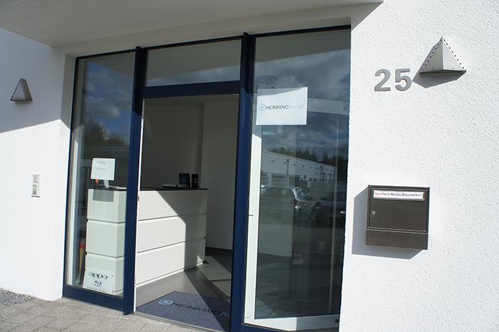 Eingangsbereich und Empfang Heimkinoraum Aachen