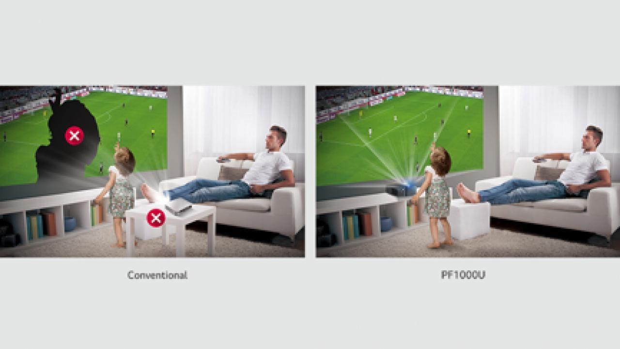 zocken mit dem beamer. Black Bedroom Furniture Sets. Home Design Ideas
