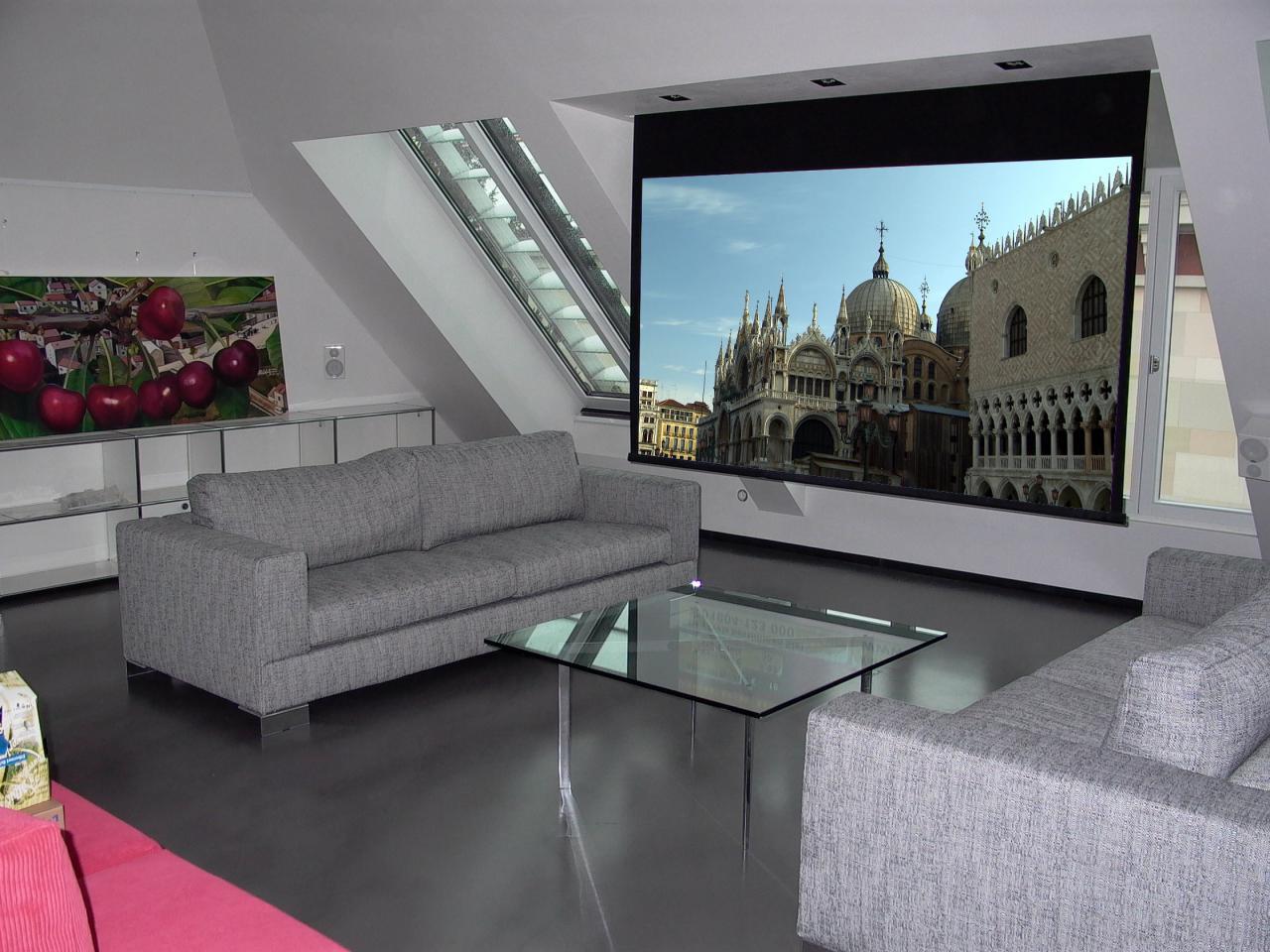Wohnzimmer Fernseher Vor Fenster – MiDiR