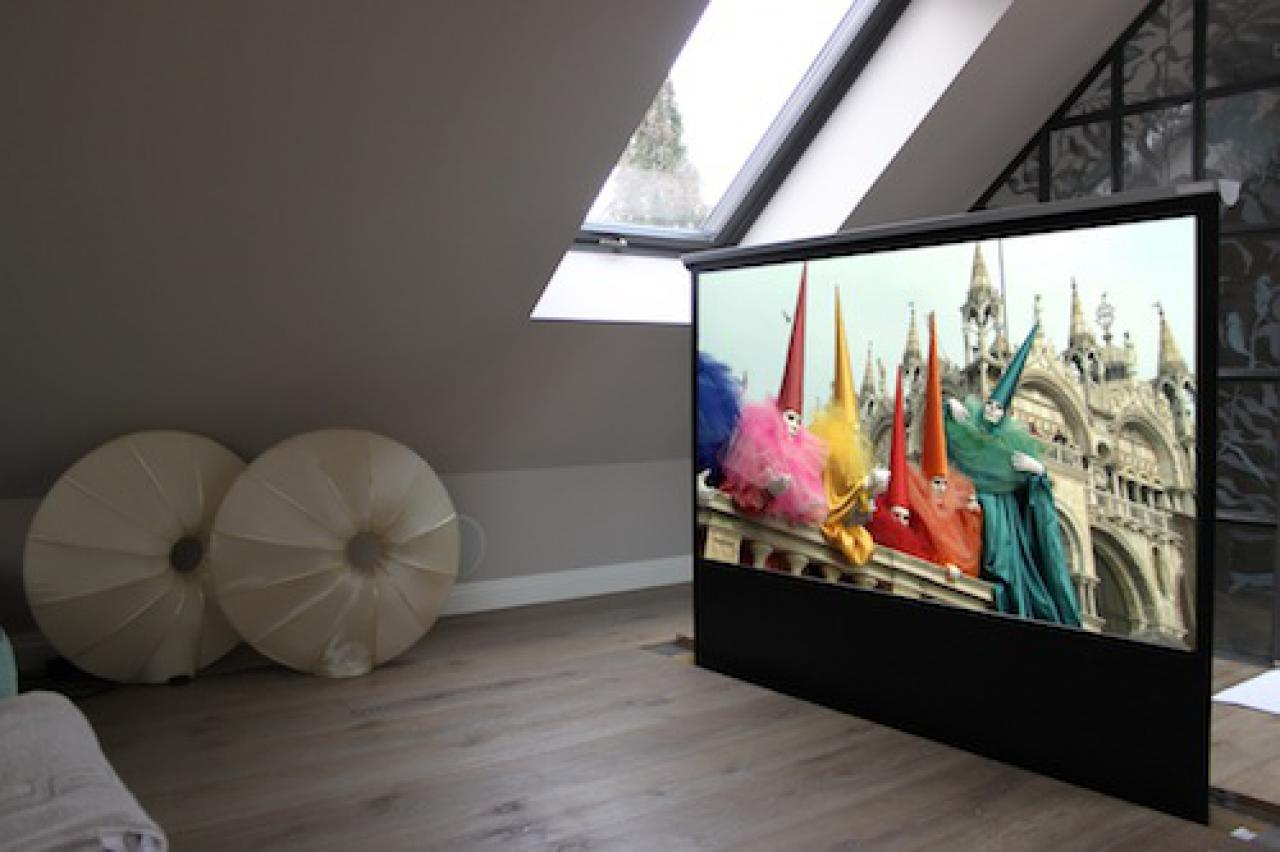 Beamer oder Fernseher ... oder beides?