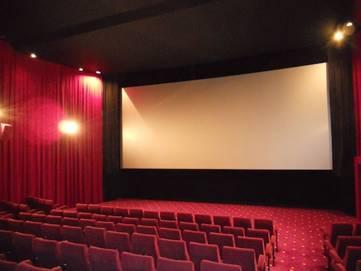 Kino Leinwand großes Bild
