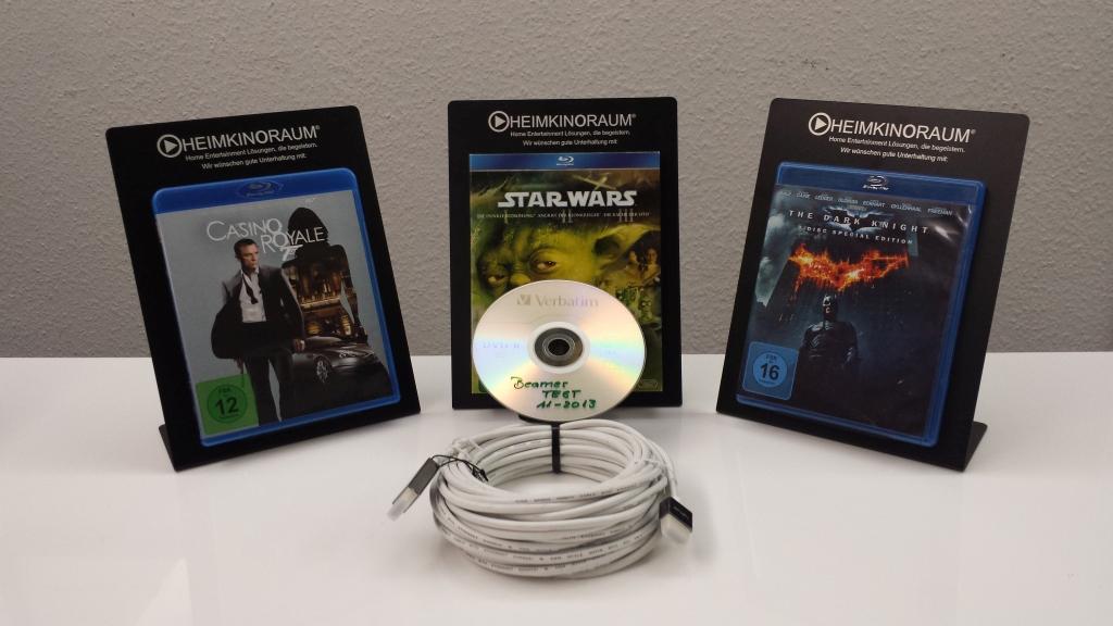 Das Testmaterial Blu-ray Filme